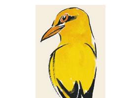 黄鹂儿童国画