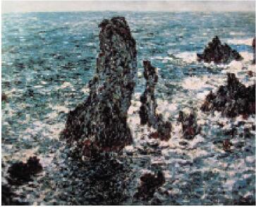 《贝尼里岬的岩石》