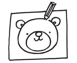 制作简单动物简笔画演出道具步骤02