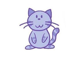 猫简笔画画法