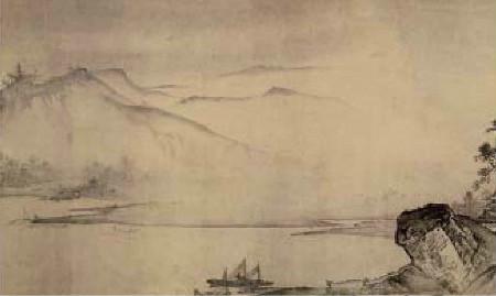 《溪山清远图》之远山
