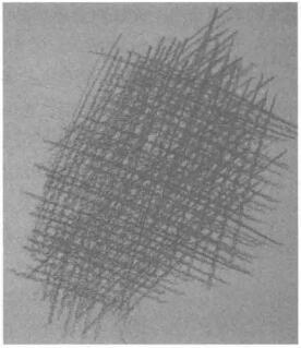 线条排列的调子表现,设计素描