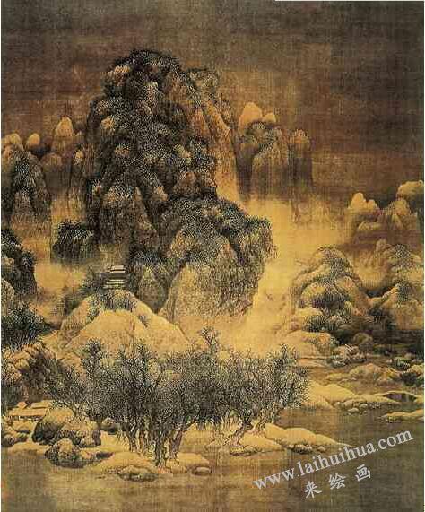 北宋 范宽《雪景寒林图》