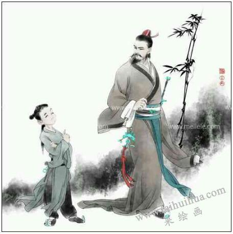 中国古代人物画