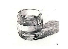 玻璃杯素描(二)