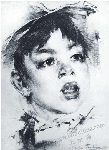 菲钦《女孩肖像》
