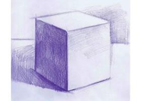 正方体素描