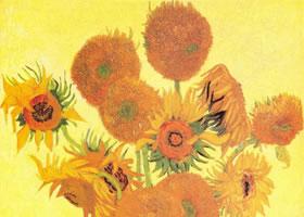 梵高《向日葵》油画