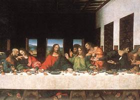 达芬奇《最后的晚餐》作品