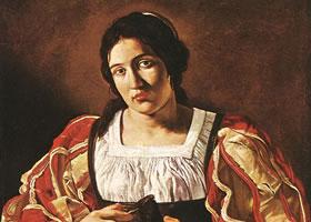 卡拉瓦乔油画肖像代表作品