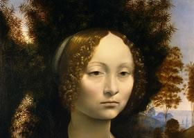 达芬奇油画作品欣赏之一