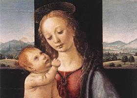 达·芬奇油画作品欣赏之五