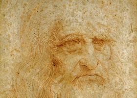 达芬奇《自画像》作品