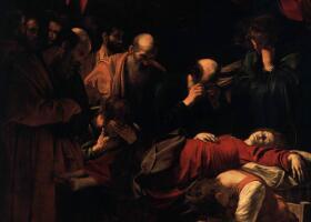 卡拉瓦乔《圣母之死》著名油画作品