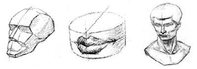 石膏素描的训练方式