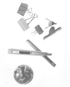 夹子、图钉、刀具、风干器、棉巾布