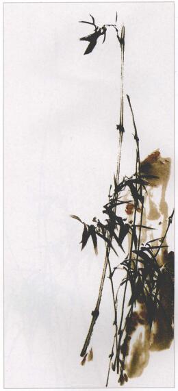 写意竹子的画法步骤03