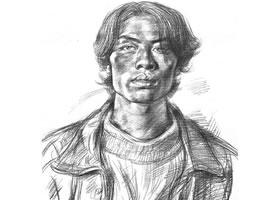 艺术考生肖像素描画法