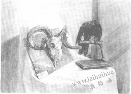 动画素描与传统素描的传承关系02