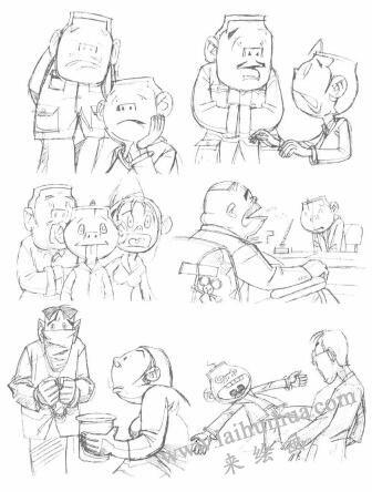动画素描与传统素描的区别03