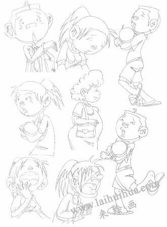 动画素描与传统素描的区别05