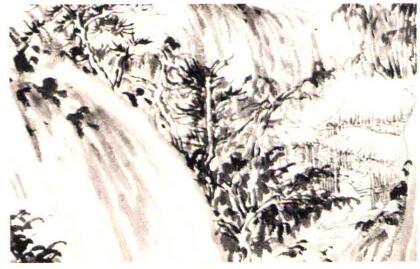 对传为巨然《秋山问道图》中的树木笔法的解读