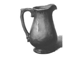 陶罐的结构与作画步骤素描练习