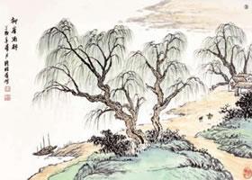 柳树的技法与解析