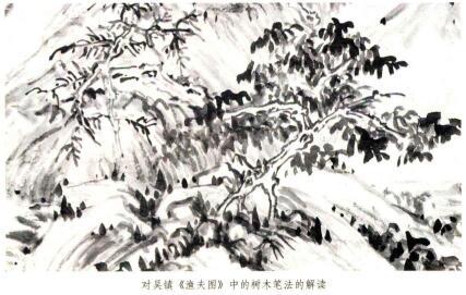 吴镇山水画的树法特征