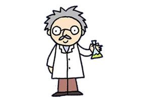 科学家简笔画画法步骤