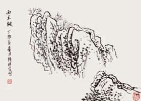 山石的皴法之雨点皴