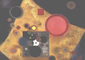 世界名画:《构图2号》布面油画