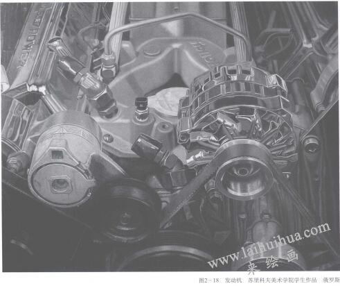 发动机素描