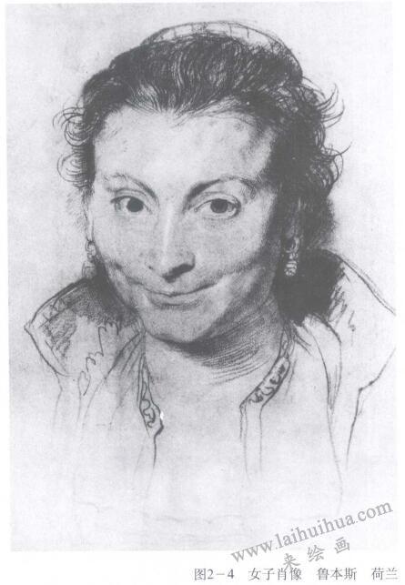 女子肖像,鲁本斯