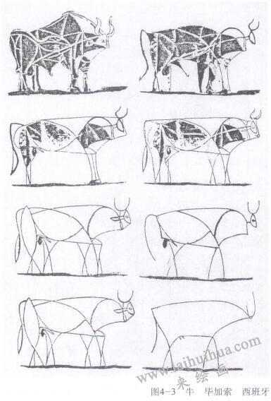 牛素描,毕加索