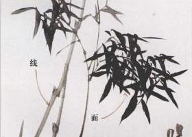 写意竹子的构成规律