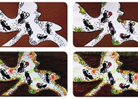 蚂蚁的家儿童画教学过程