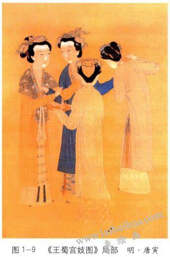 王蜀宫妓图