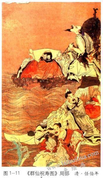 群仙祝寿图