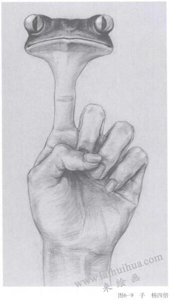 手,手绘创意素描