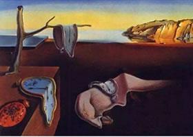 世界名画:《记忆的永恒》布面油画