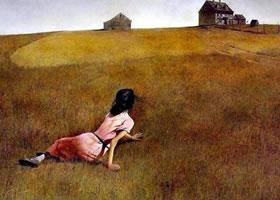 世界名画《克里斯蒂娜的世界》布面油画