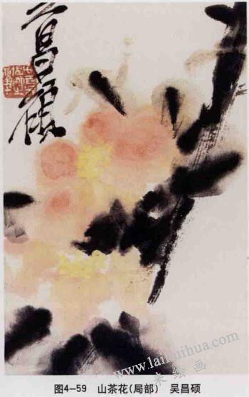 山茶花,写意花鸟画常见的表现方法