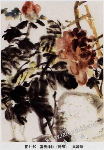 富贵神仙,写意花鸟画常见的表现方法
