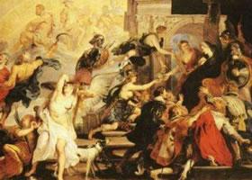 世界名画《亨利四世升天和玛丽•德•美第奇摄政》