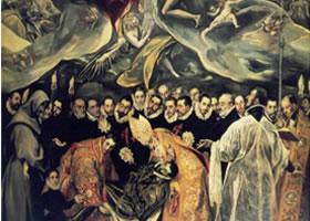 世界名画《奥尔加斯伯爵的葬礼》布面油画