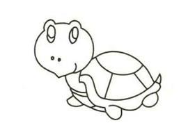 乌龟简笔画画法步骤
