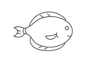 小鱼简笔画画法步骤