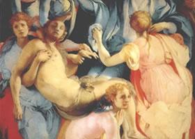世界名画《基督降架图》壁画欣赏