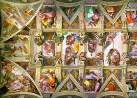 世界名画《西斯庭天顶》欣赏